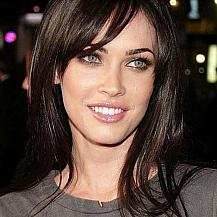 Megan Fox Medium Hairstyle