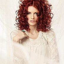 Red Perm Hairstyle