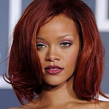 Rihanna Medium Hairstyle