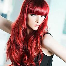 Cherry Red Hair