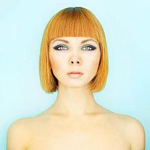 Light Red Bob Hairstyle