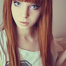 Pale Red Hair