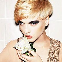 Blonde Modern Short Hairstyle