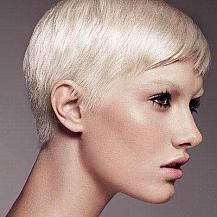 Blonde Short Womens Hairstyle