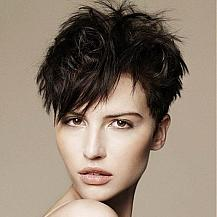 Cool Short Layered Hairstyle
