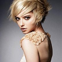 Medium Short Swept Hair