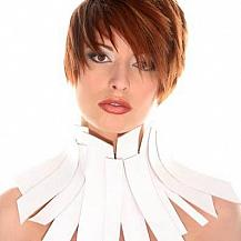 Red Short Layered Hairstyle