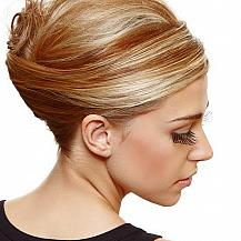 Beehive Updo Highlights