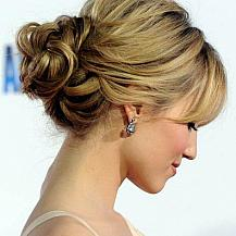 Dianna Agron Updo 2