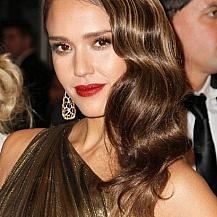 Jessica Alba Glamour Long Hairstyle