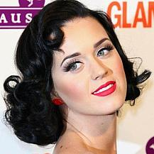 Katy Perry 50s Bob Hairstyle
