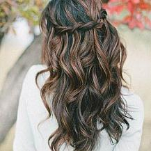 Boho Wedding Hairstyle