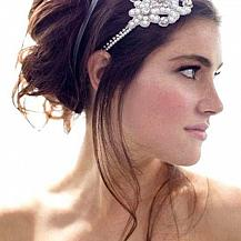 Bridal Messy Bouffant Hairstyle