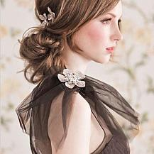 Bridesmaid Chignon Hairstyle