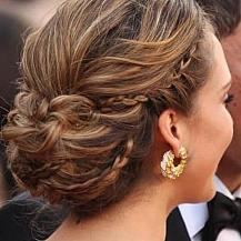 Long Hair Wedding Updo
