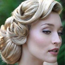 Vinatage Bridal Hairstyle