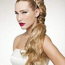 Wedding Hairstyle Half Up Half Down