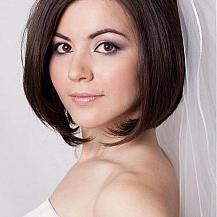 Bob Wedding Hairstyle