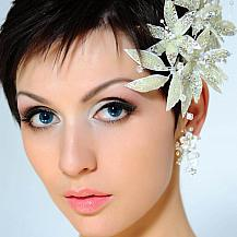 Pixie Wedding Hairstyle