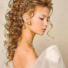 Wedding Hair Ringlets