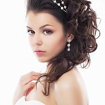 Wedding Hairstyle Large Curls
