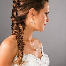 Wedding Hairstyle Long Braid