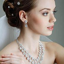 Wedding Hairstyle With Pins