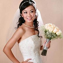 Wedding Hairstyle Side Swept