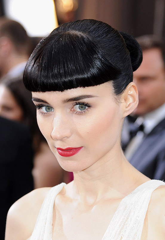 Rooney Mara Blunt Bangs The Latest Trends In Women S