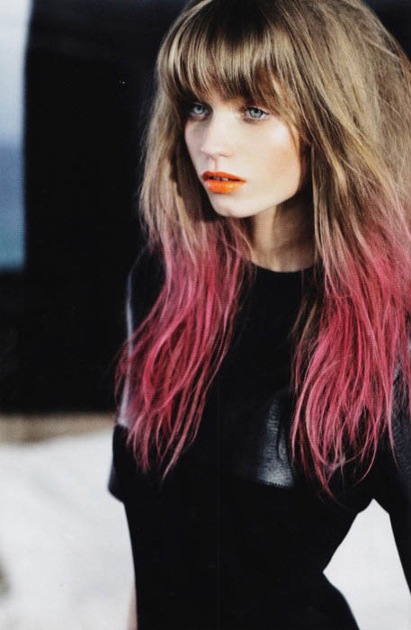 how to dye your hair ombre style at home and pink the trends in s 9319