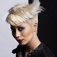 short hair shaved sides  the latest trends in women's